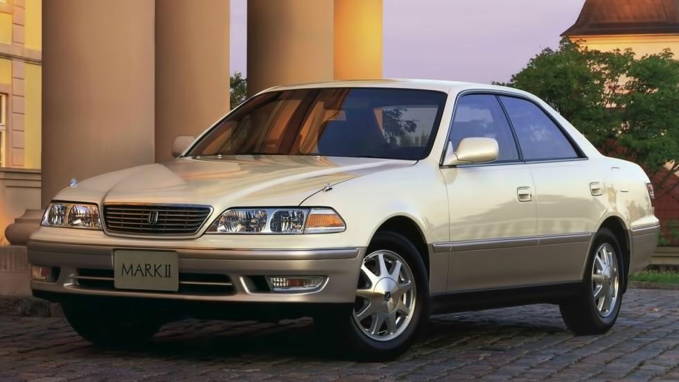 На фото: Toyota Mark II '1996–1998