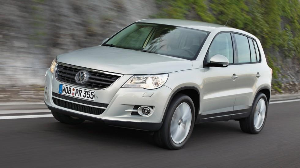 На фото: Volkswagen Tiguan '2008–11