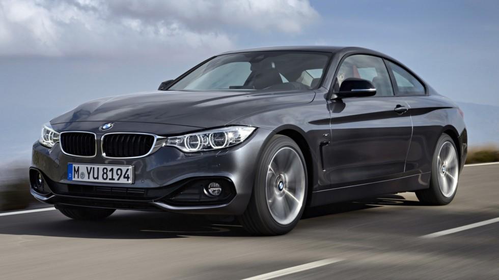На фото: BMW 420d Coupé '2013–17