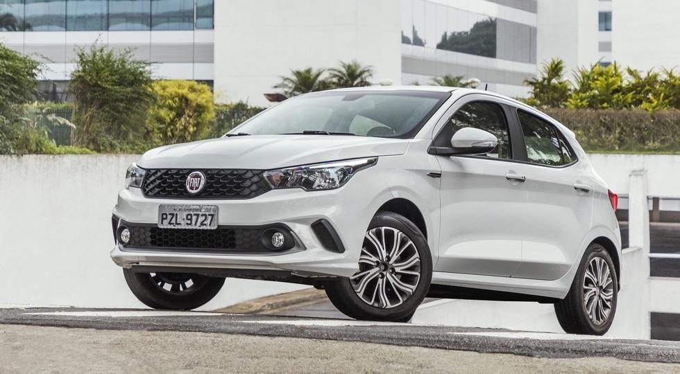 На фото: Fiat Argo для южноамериканского рынка