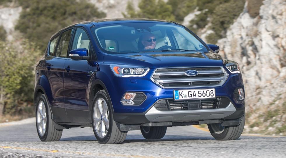 На фото: Ford Kuga