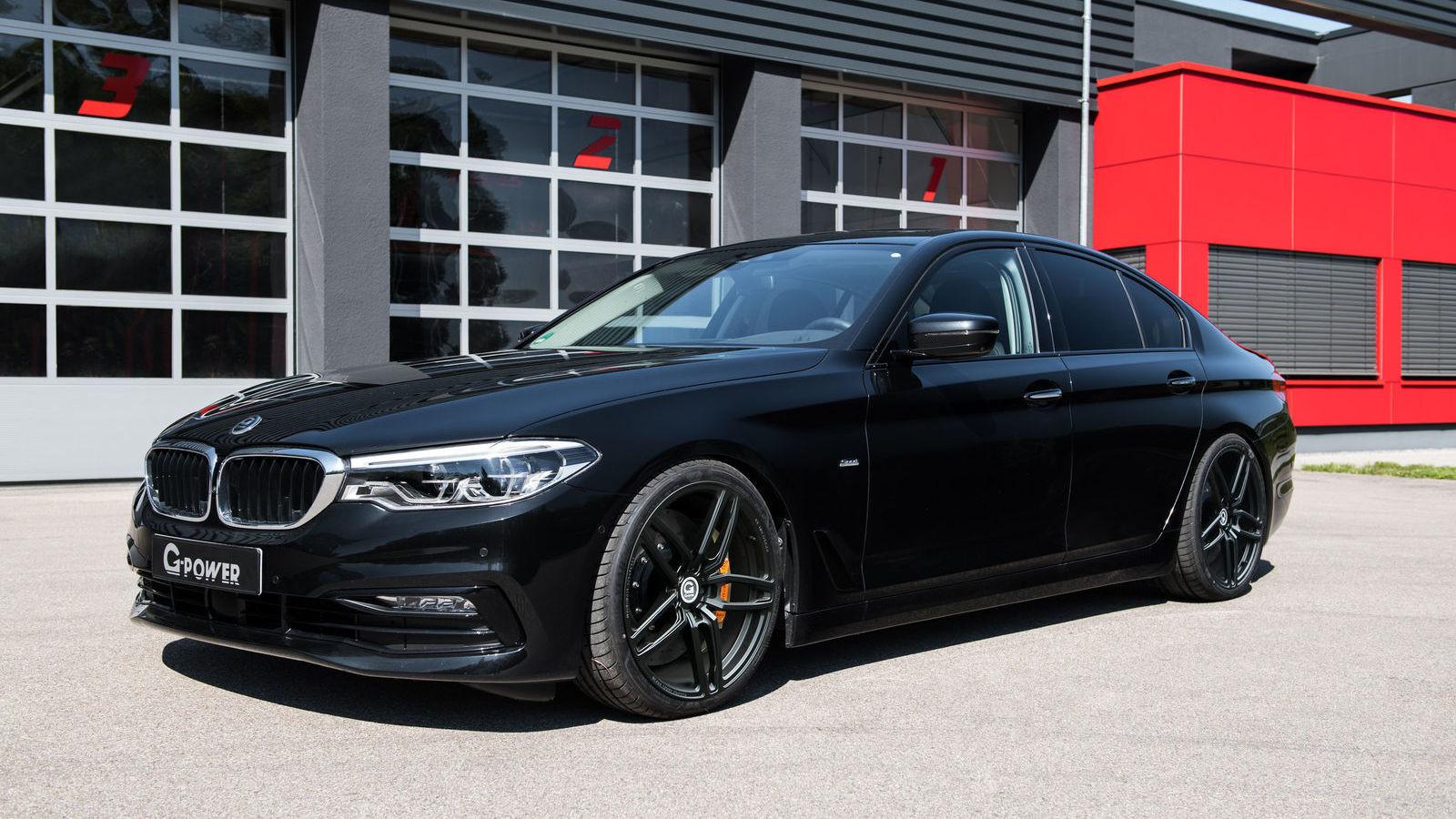 BMW 5-Series после комплексного тюнинга отG-Power: результаты впечатляют