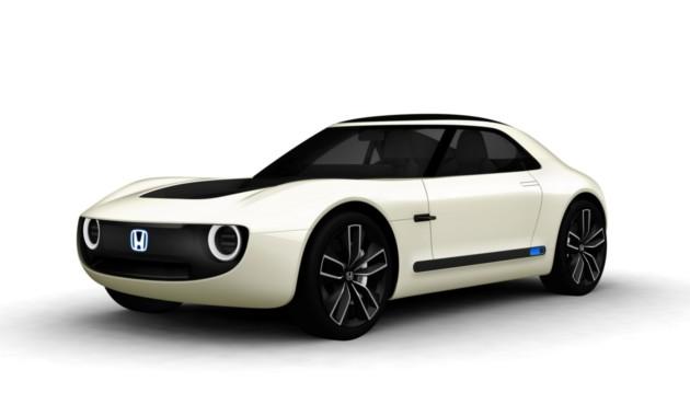 Хонда Sports EV— Автосалон вТокио