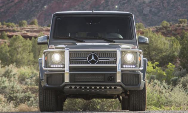 ВДетройт приедет легендарный Мерседес-Бенс G-Class обновленного поколения