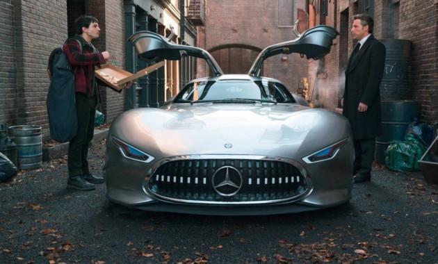 Mercedes for Justice league mercedes benz
