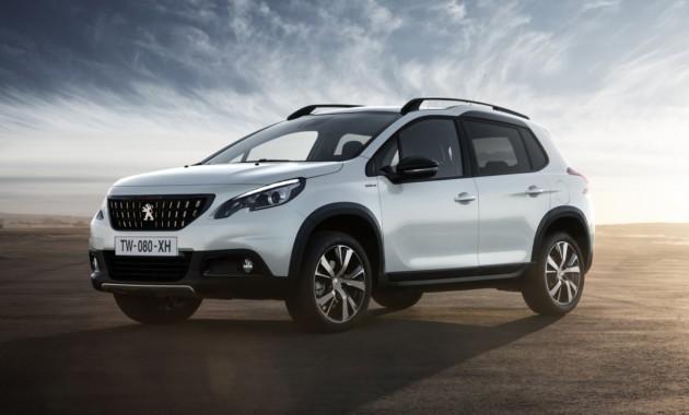 Обновленный тип Peugeot (Пежо) 2008 выйдет в 2019-ом году
