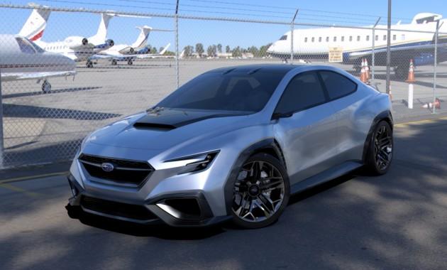Концептуальный автомобиль Субару Viziv Performance намекнул нановый WRX