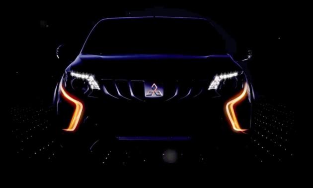 Дизайн пикапа Мицубиси L200 будет изготовлен встиле нового Pajero Sport
