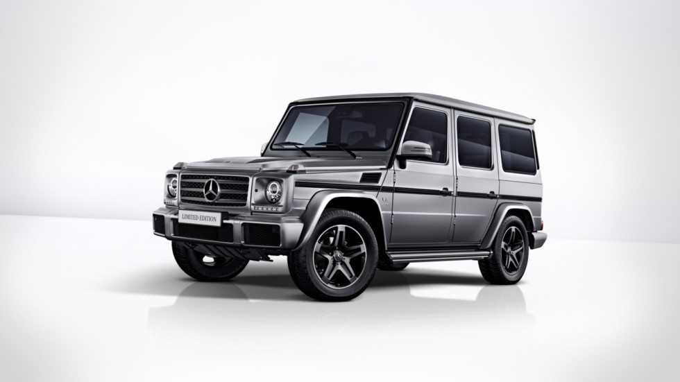 Mercedes-Benz G 500 Limited Edition, 2017