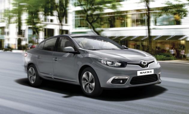 Renault обновил электрический седан Samsung SM3 ZE