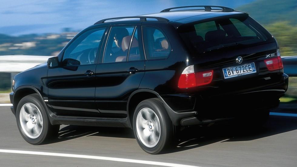На фото: BMW X5 3.0d (E53) '2001–03