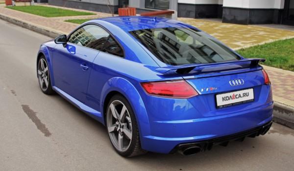 Две главные буквы: тест-драйв Audi TT RS Coupe