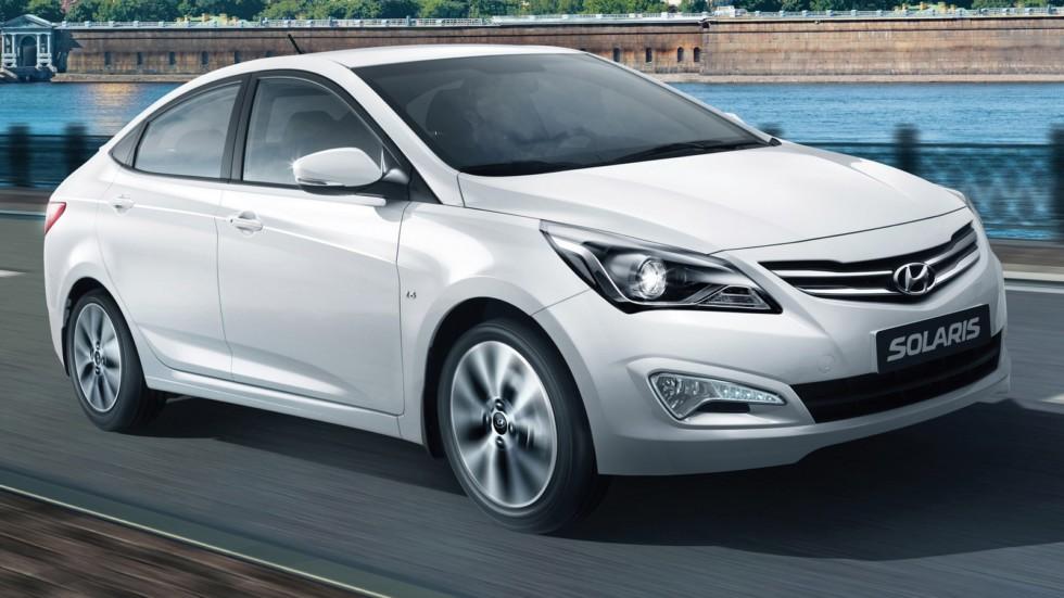На фото: Hyundai Solaris '2014–17