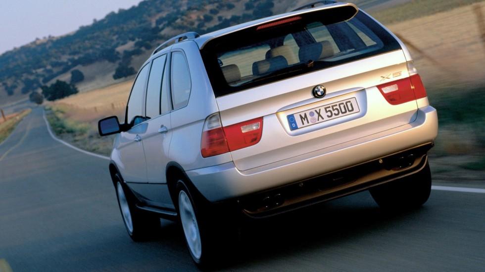 На фото: BMW X5 4.4i (E53) '2000–03