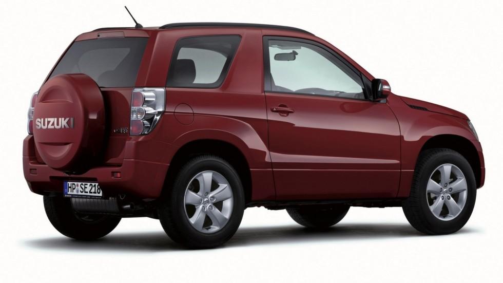 На фото: Suzuki Grand Vitara 3-door '2008–12