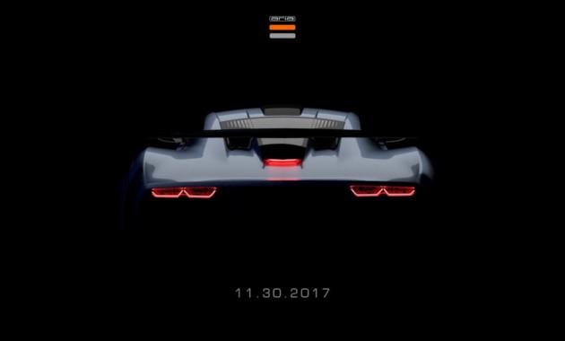 Производитель космических капсул компания Aria Group привезет вЛос-Анджелес спорткар FXE