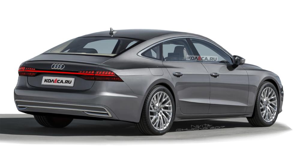Audi A7 rear1