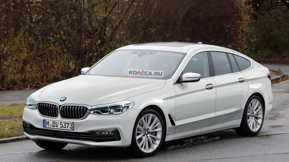 BMW 5 GT front