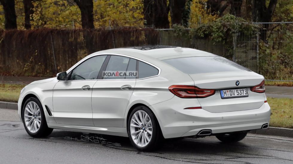 BMW 5 GT rear