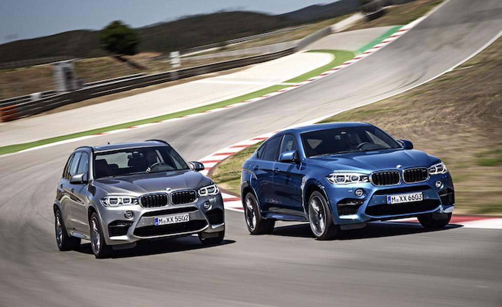 BMW X5 M и X6 M получат еще больше мощности