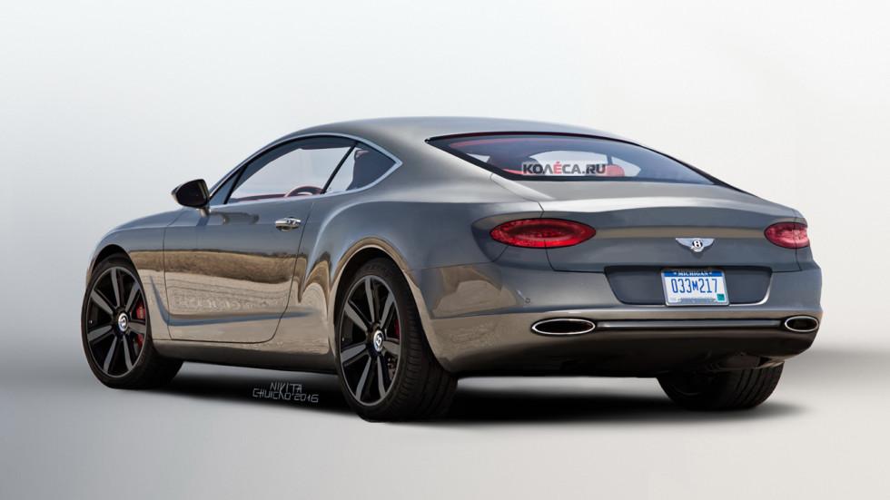 Bentley Conti rear