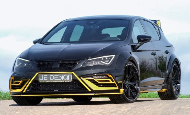 SEAT Leon Cupra JeDesign станет главным конкурентом Audi RS3 Sportback class=