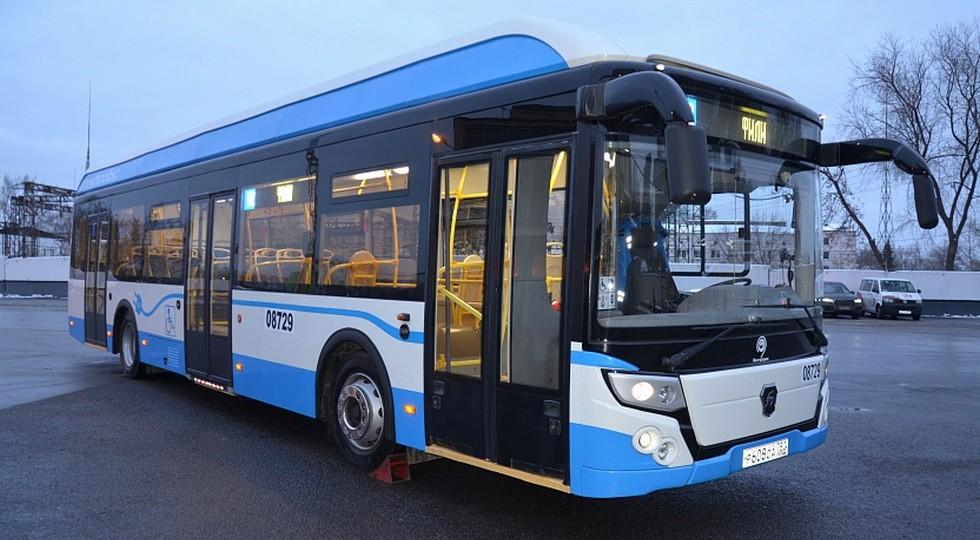 На фото: автобус ГАЗ