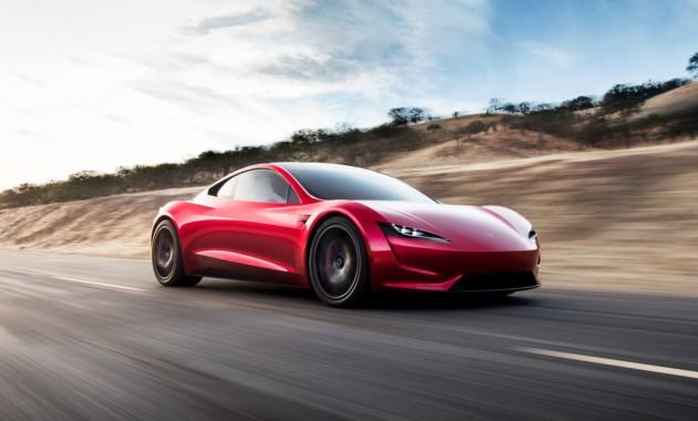 Tesla показала новый Roadster— нетолько лишь фургон
