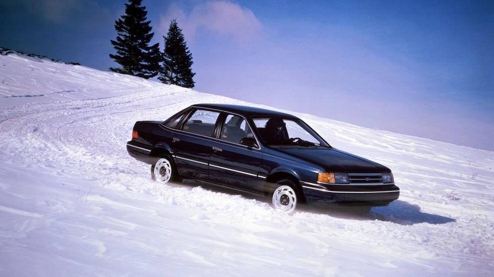 Ford Tempo AWD Sedan (39-54D) 1988–90