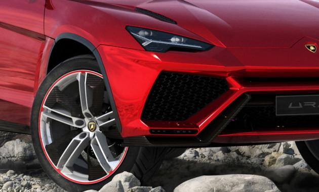 Папарацци рассекретили салон первого кроссовера Lamborghini Urus