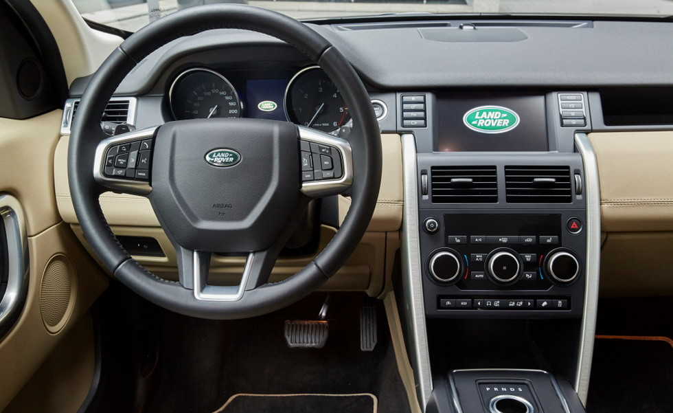 Land Rover Discovery Sport текущей генерации