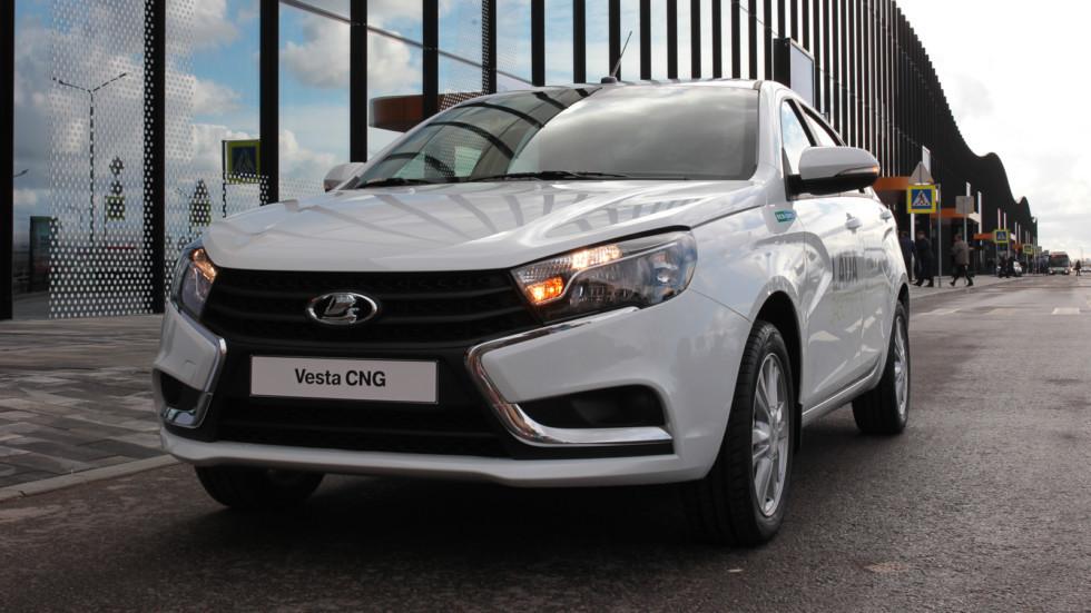 Lada Vesta CNG получит спортивную версию