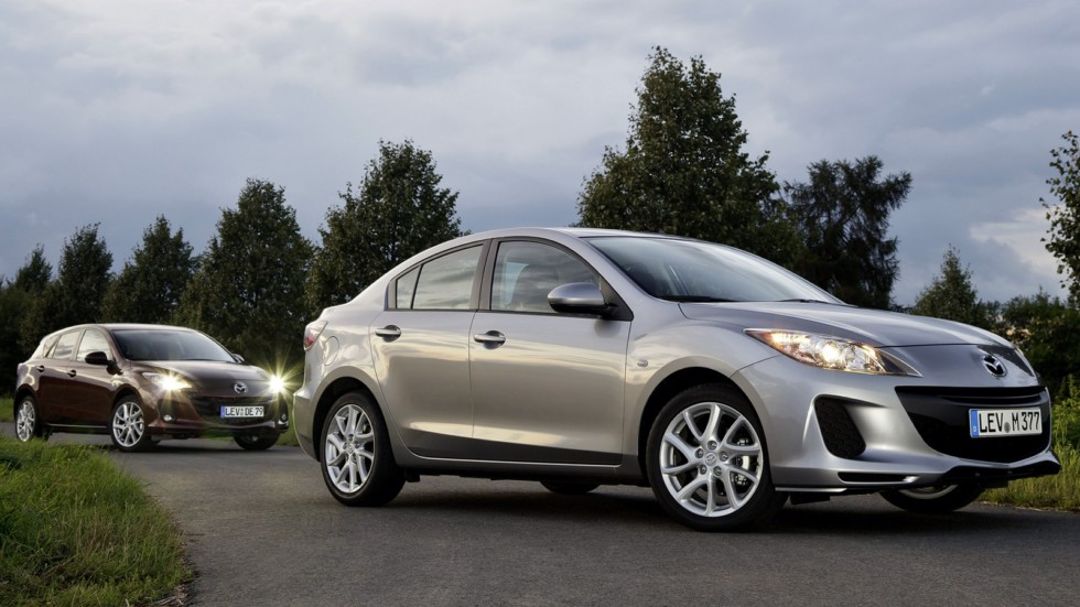 На фото: Mazda3 (BL) '2009–13