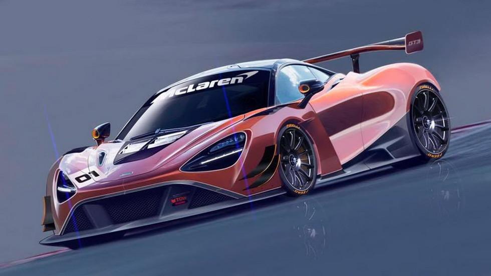 МакЛарен анонсировал гоночное купе 720S GT3