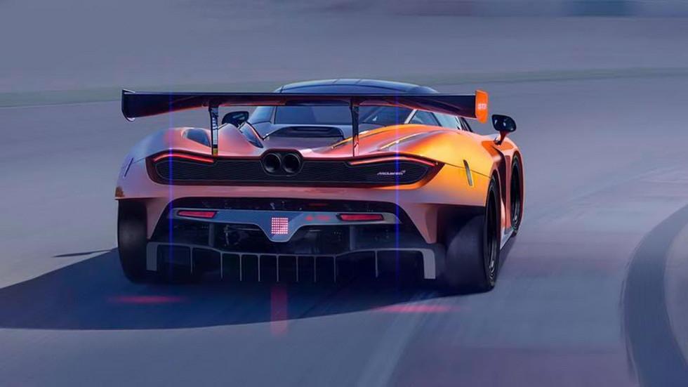 Мак Ларен обнародовал первые изображения гоночного суперкара 720S