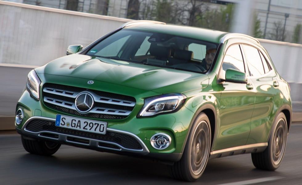 Mercedes-Benz GLA 200 d 4MATIC 2017