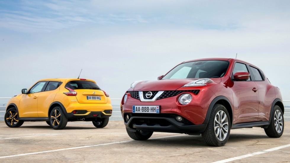 На фото: Nissan Juke '2014–н.в.