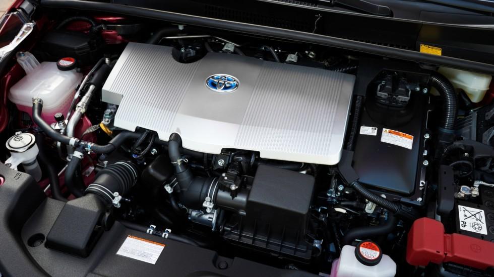 Под капотом Toyota Prius '2016–н.в.