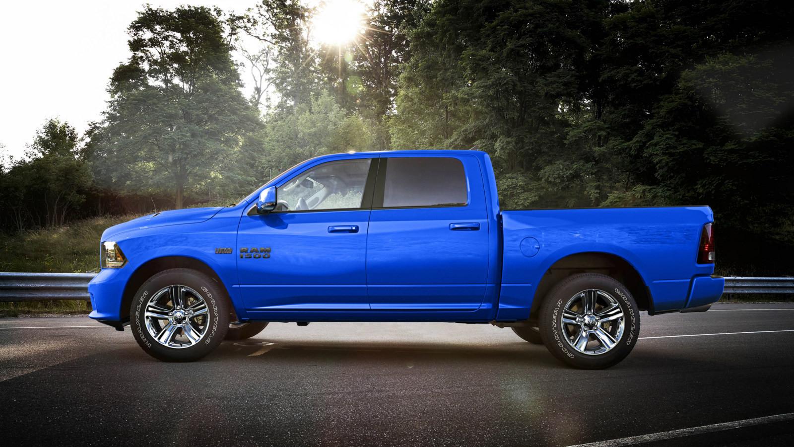 Пикап Ram 1500 Hydro Blue Sport 2018 получил особую «синюю» версию