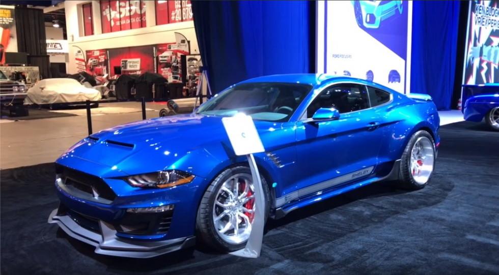 Shelby представила два безумных Форд Mustang наSEMA