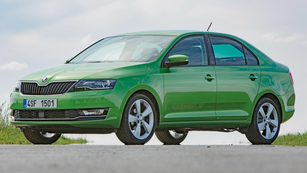 Skoda Rapid Worldwide '2017