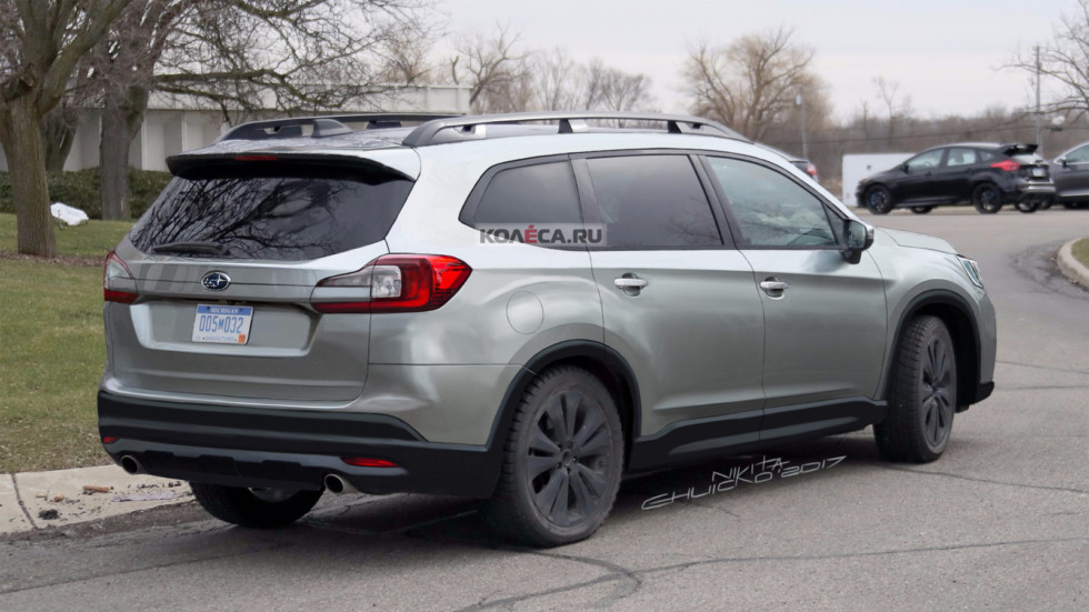 Subaru SUV rear