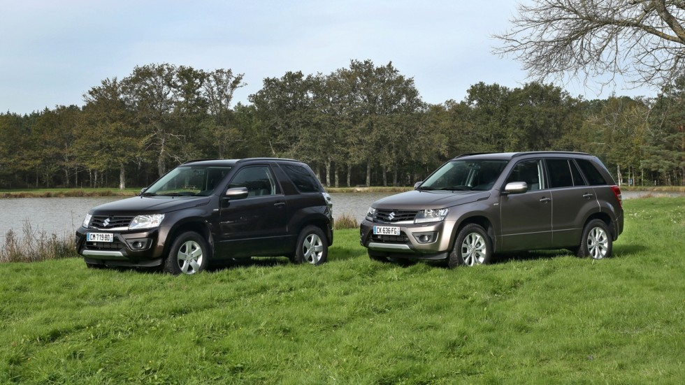 На фото: Suzuki Grand Vitara '2012–н.в.