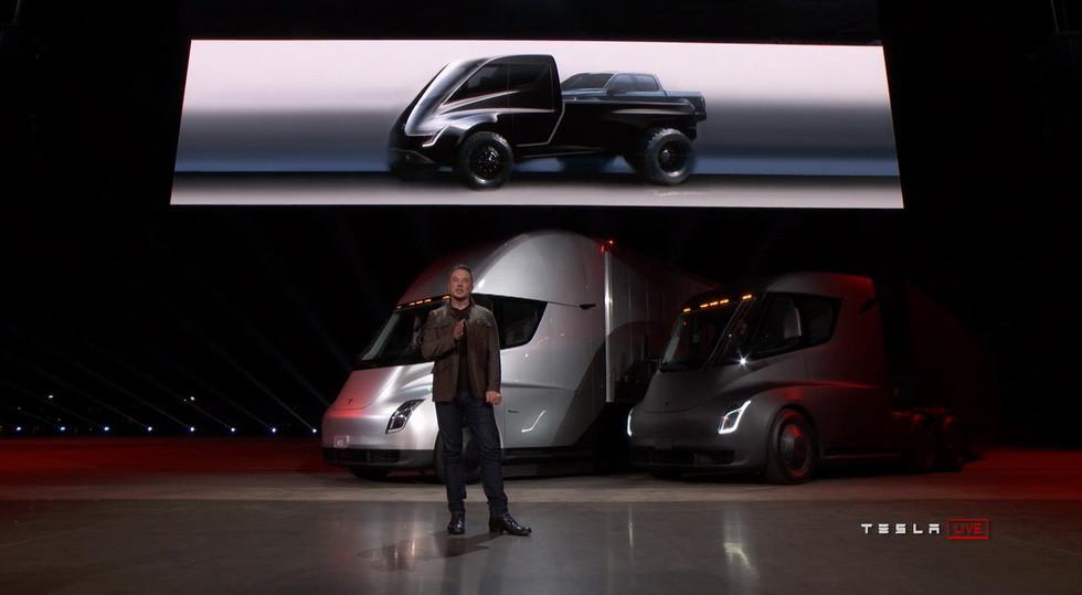 Каким будет 1-ый пикап Tesla