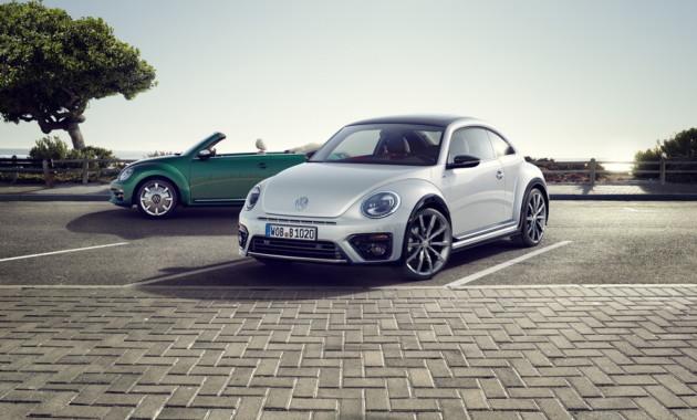 Новый Volkswagen Beetle станет заднеприводным электромобилем