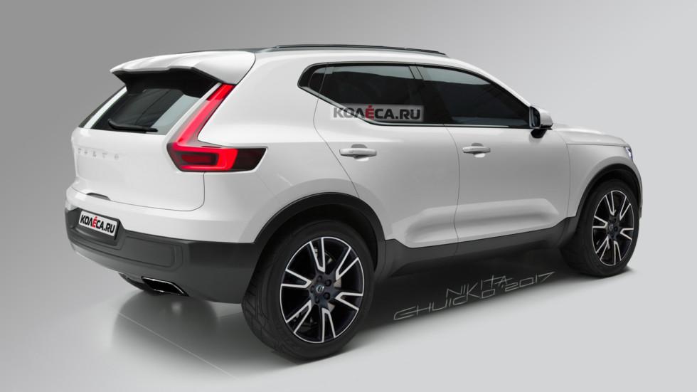 Volvo XC40 rear2