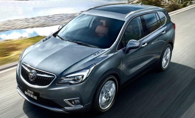 Небольшая смена внешнего облика пошла напользу Buick Envision