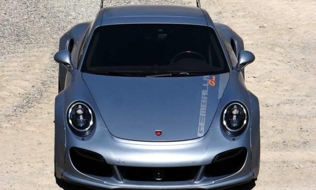 GemballaGT Concept: тюнинг Порш 911 Turbo до828-сил