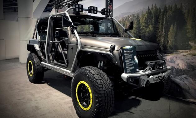 Нафестивале SEMA-2017 представлен тюнинговый Jeep Wrangler