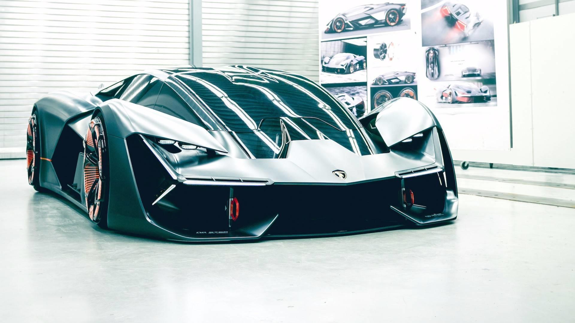 Lamborghini представила наносуперкар Terzo Millennio Concept 2040 года